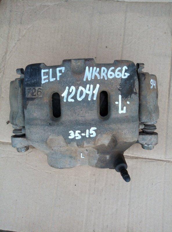 Тормозной суппорт Isuzu Elf NKR71G 4HG1 1997 левый