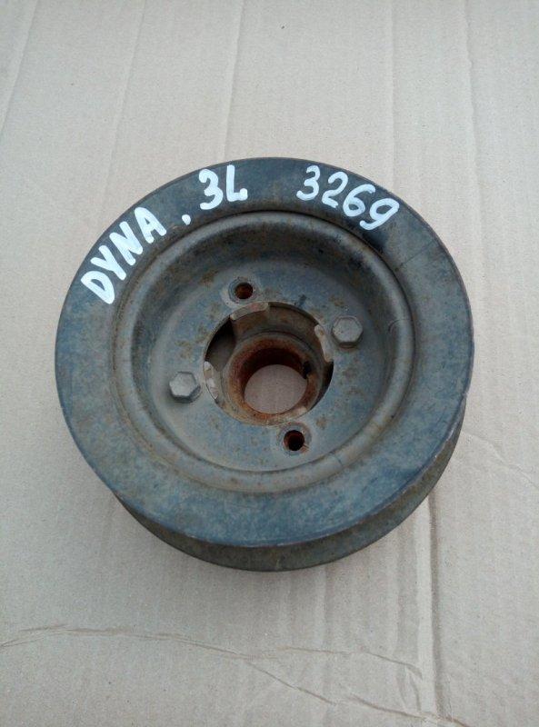 Шкив коленвала Toyota Dyna 3L 1996