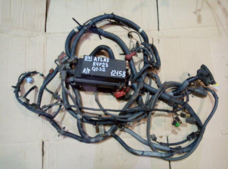 Проводка (коса) моторного отсека Nissan Atlas R4F23 QD32 2000