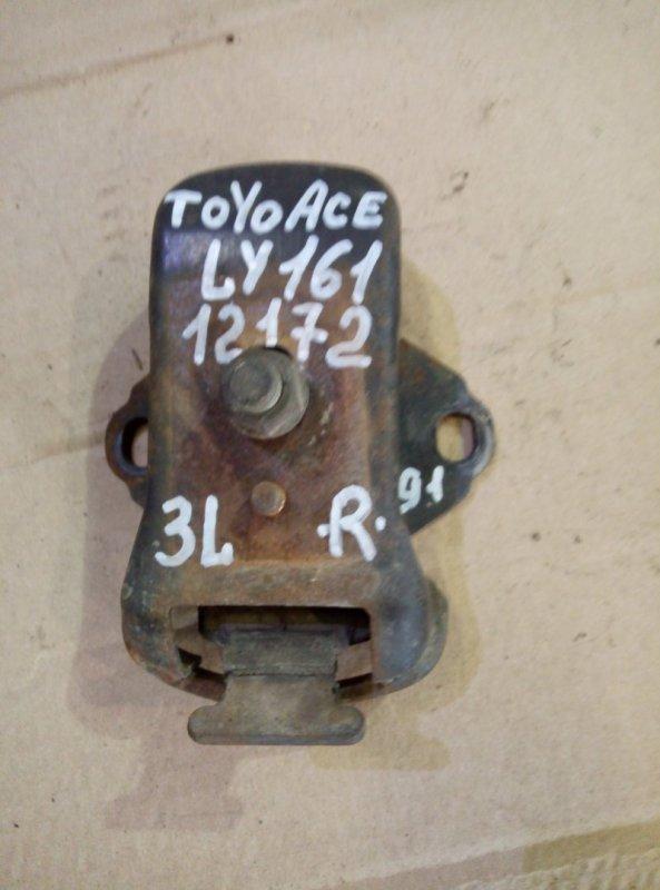 Подушка двигателя Toyota Toyoace LY161 3L 1998 правая
