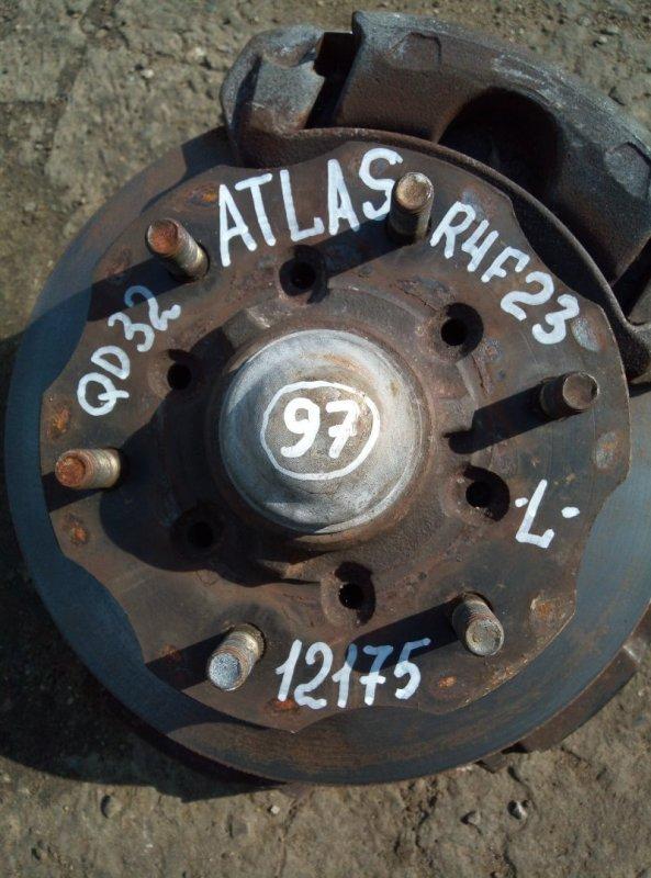 Ступица Nissan Atlas R4F23 QD32 2000 передняя левая
