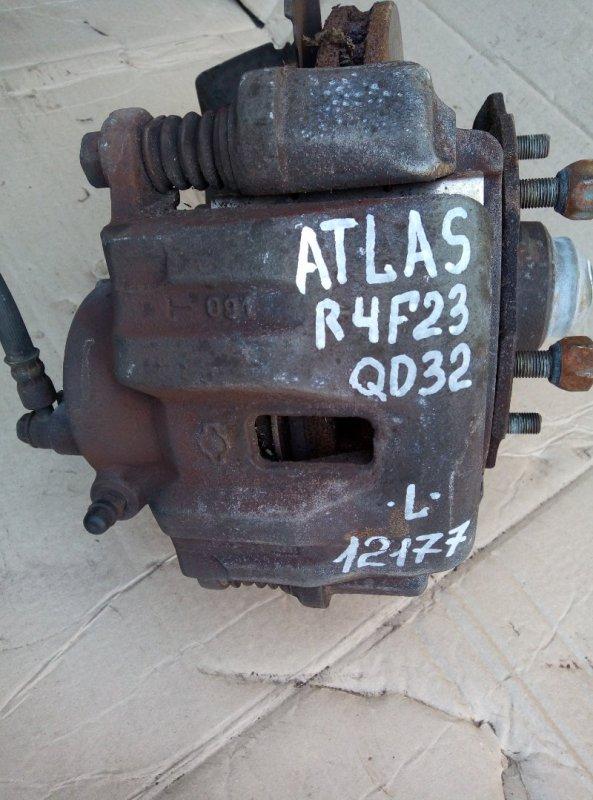 Тормозной суппорт Nissan Atlas R4F23 QD32 2000 левый