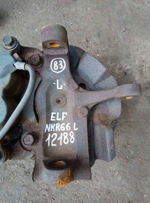 Поворотный кулак Isuzu Elf NKR66L 4HF1 1998 левый
