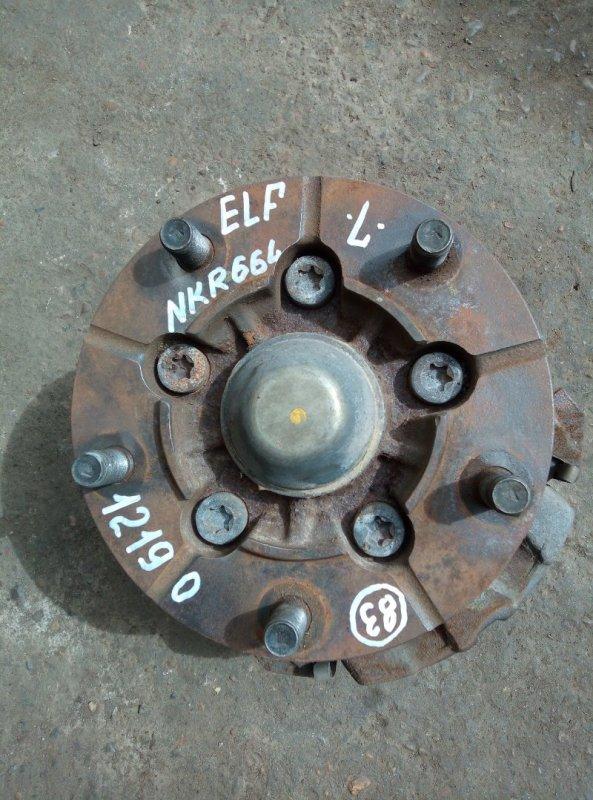 Ступица Isuzu Elf NKR66L 4HF1 1998 передняя левая