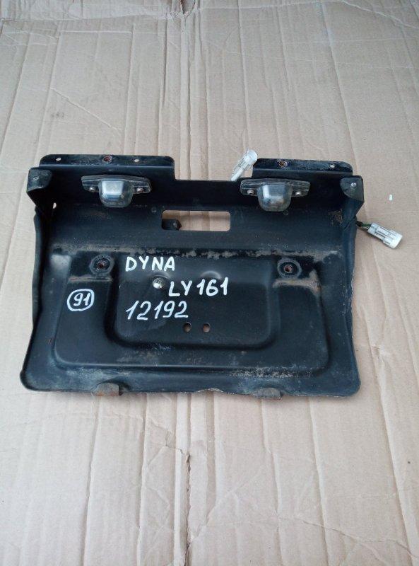 Подсветка номера Toyota Toyoace LY161 3L 1998