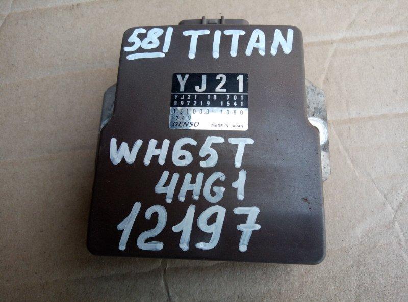 Блок управления топливным насосом Mazda Titan WH65T 4HG1 2000