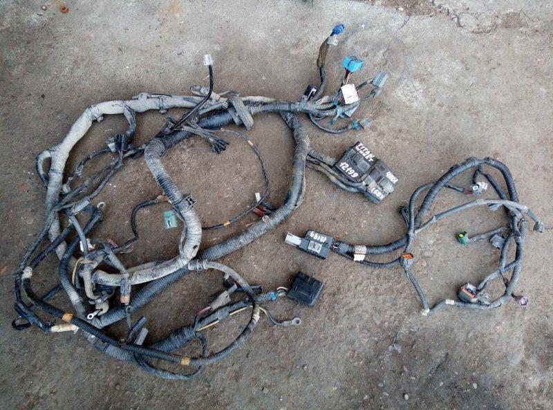 Проводка (коса) моторного отсека Mazda Titan WH65T 4HG1 2000
