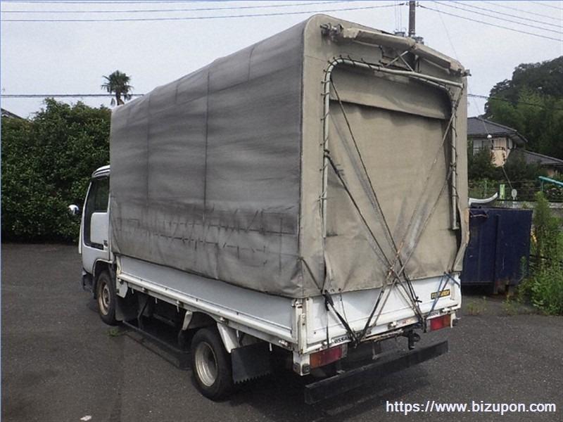 Кузов бортовой Nissan Atlas R4F23 QD32 2005