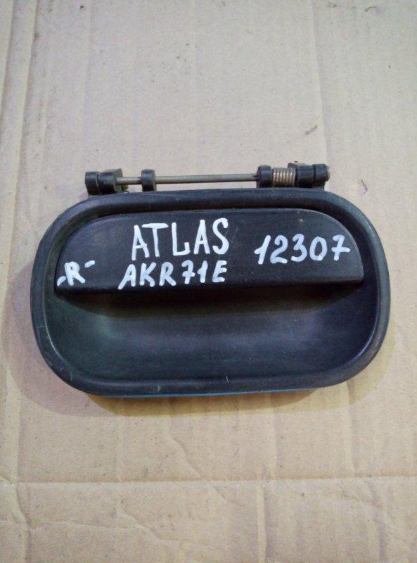 Ручка двери, наружная Nissan Atlas AKR71E 4HG1 правая