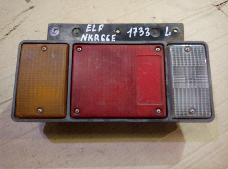 Стоп сигнал Isuzu Elf NKR66E 4HF1 2001 левый