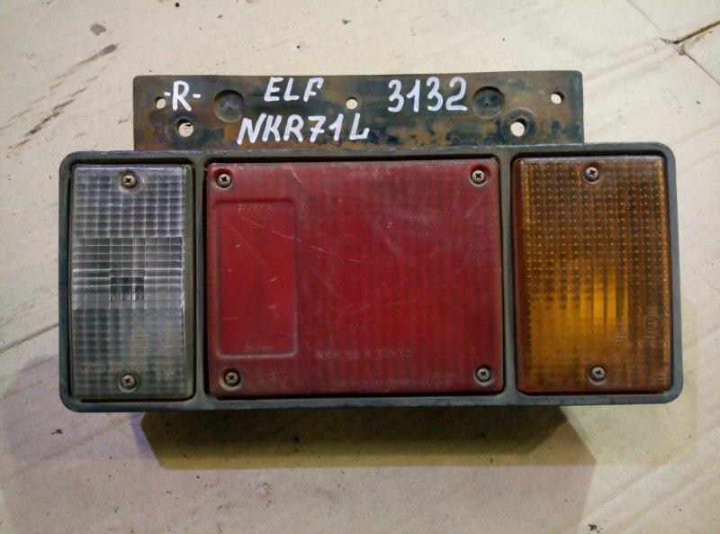 Стоп сигнал Isuzu Elf NKR71L 4HG1 2001 задний правый