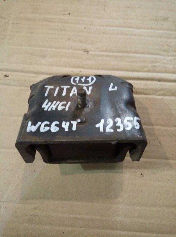 Подушка двигателя Mazda Titan WG64T 4HG1 1997 левая