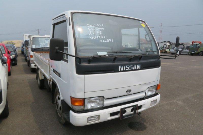 Двигатель Nissan Atlas G2H41 FD42 1994