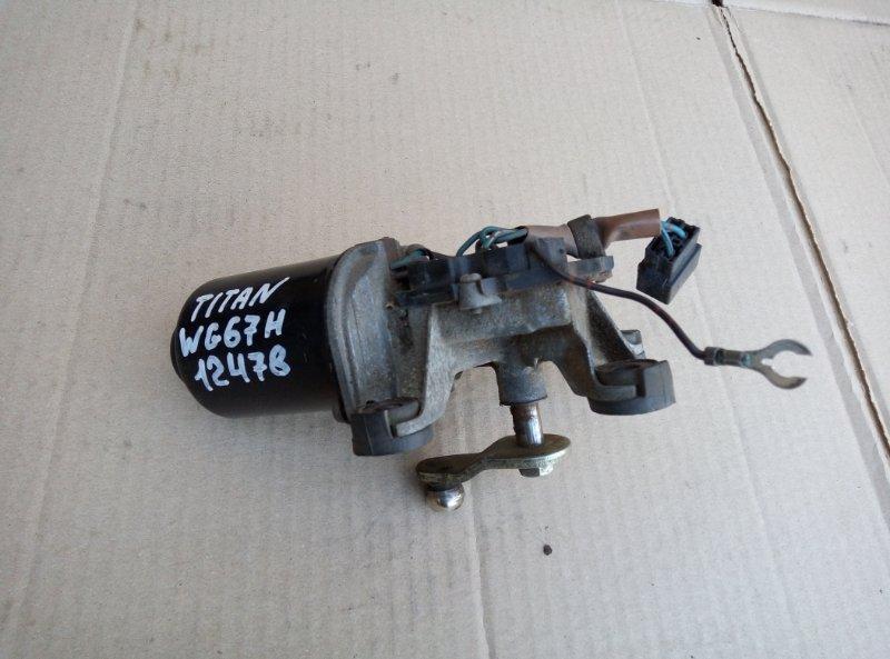Моторчик дворников Mazda Titan WG67H 4HG1 1995
