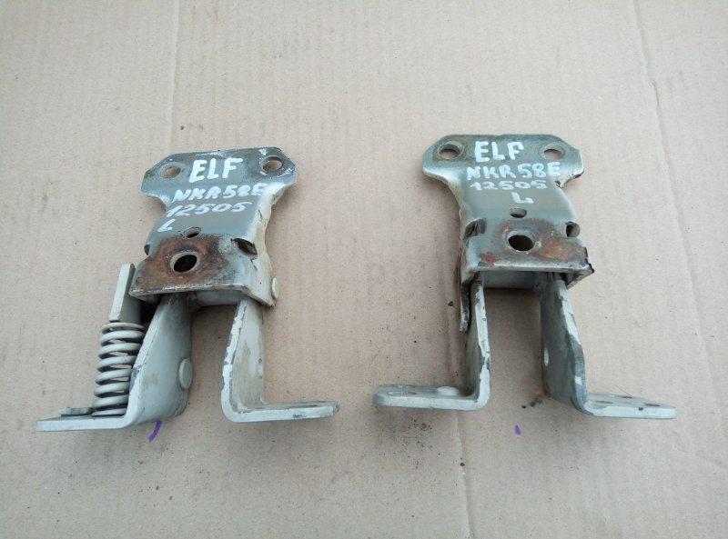 Петля двери Isuzu Elf NKR58E 4BE1 1992 левая
