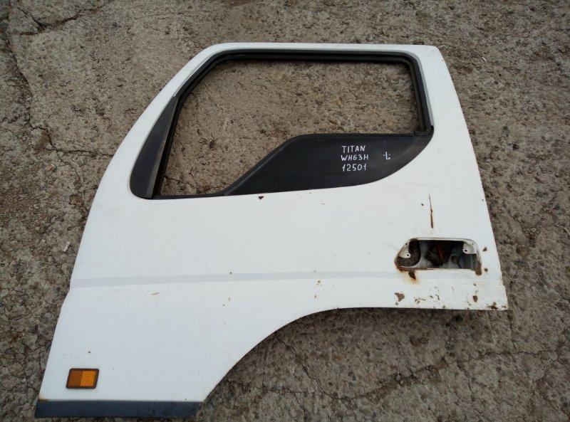 Дверь Mazda Titan WH63H 4HG1 2001 передняя левая