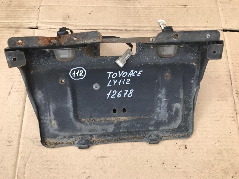 Подсветка номера Toyota Toyoace LY112 5L 2000