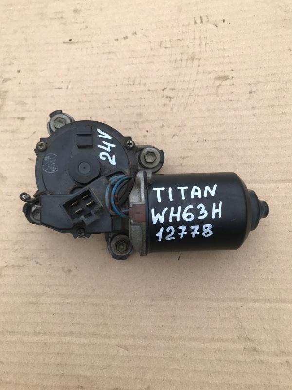 Моторчик дворников Mazda Titan WH63H 4HG1 2001