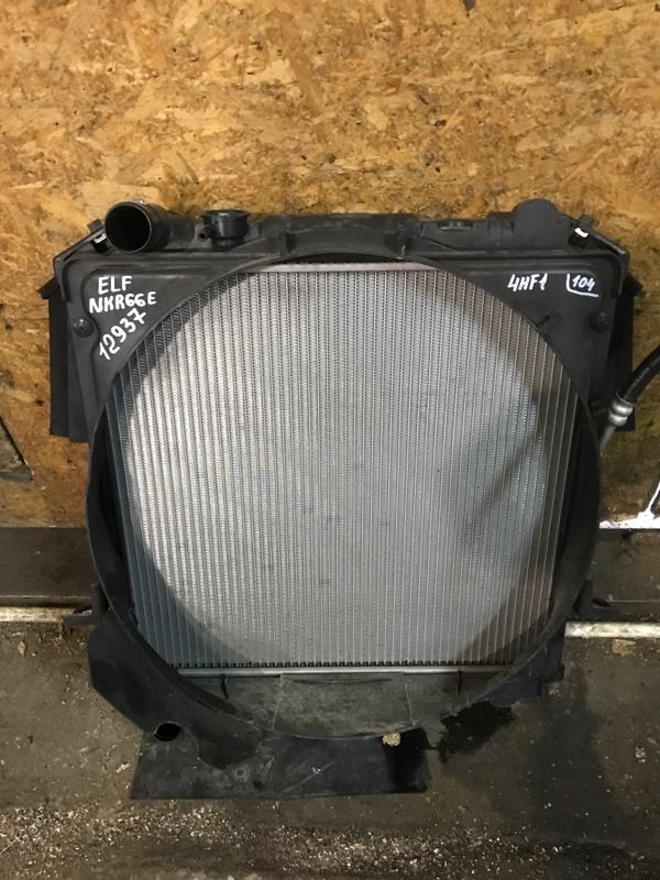 Радиатор Isuzu Elf NKR66E 4HF1 2002
