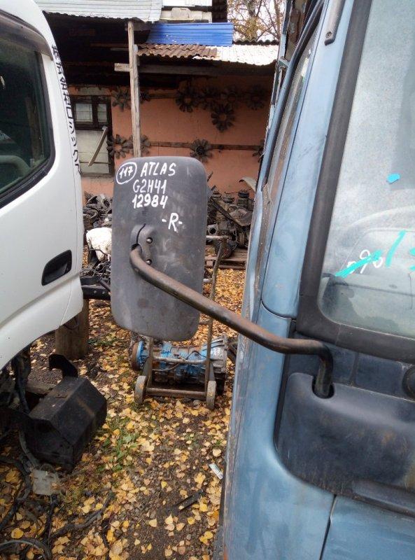 Стойка зеркала Nissan Atlas G2H41 FD42 1993 правая