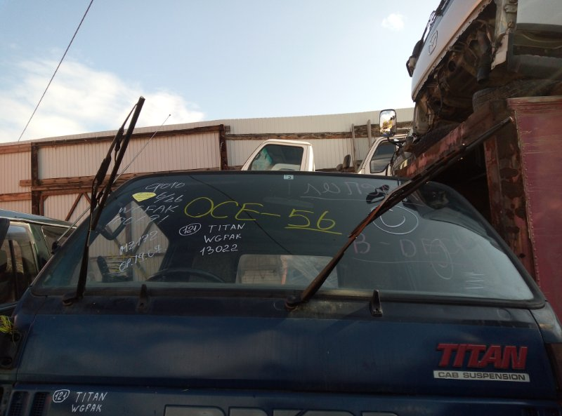 Лобовое стекло Mazda Titan WGFAK TF 1996