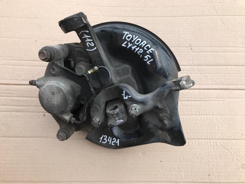 Поворотный кулак Toyota Toyoace LY112 5L 2000 левый