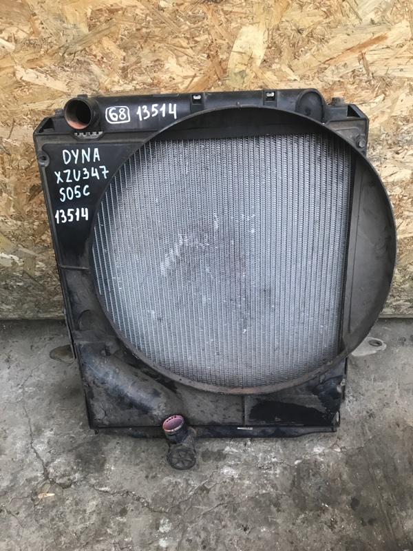 Радиатор Toyota Dyna XZU347 S05C 2003