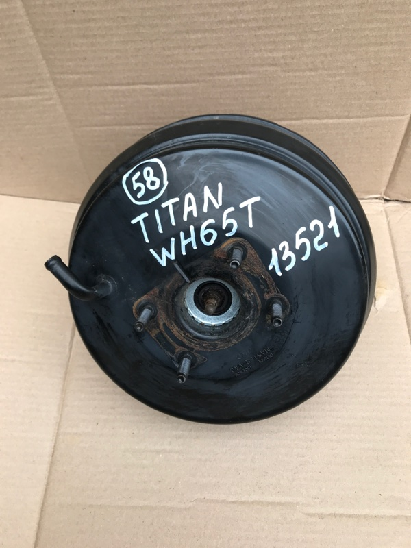 Вакуумный усилитель тормоза Mazda Titan WH65T 4HG1 2000