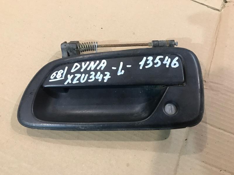 Ручка двери, наружная Toyota Dyna XZU347 S05C 2003 левая