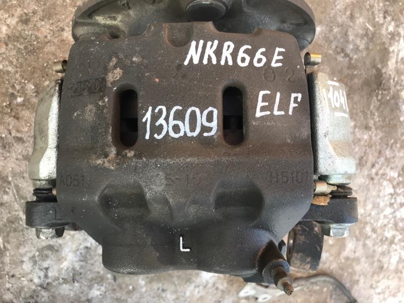Тормозной суппорт Isuzu Elf NKR66E 4HF1 2002 передний левый