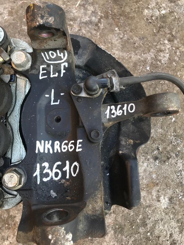 Поворотный кулак Isuzu Elf NKR66E 4HF1 2002 левый