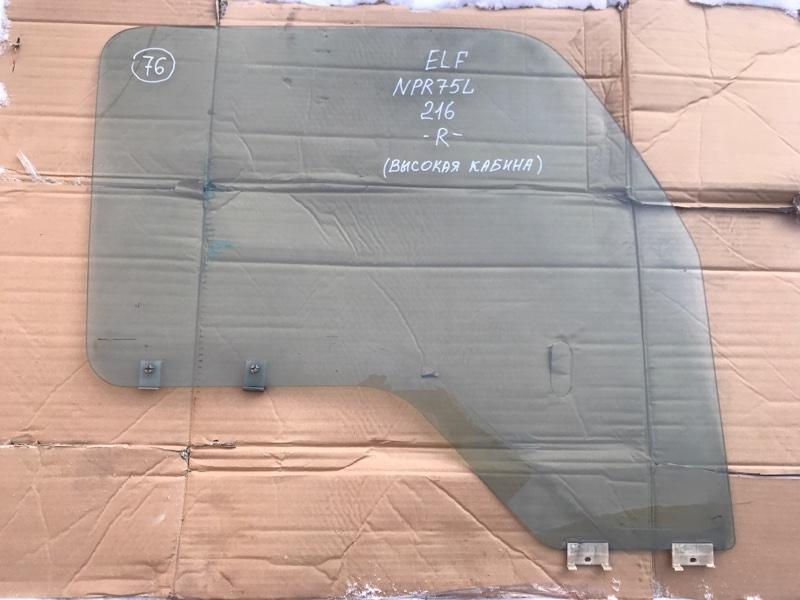 Стекло Isuzu Elf NPR75L 4HK1 1999 переднее правое