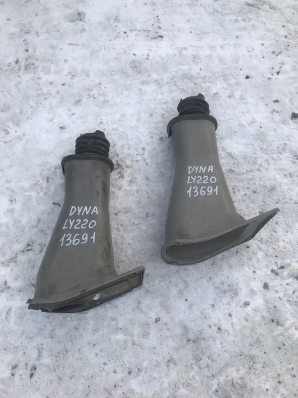Защита (напольный кожух) рулевой колонки Toyota Dyna LY220 5L