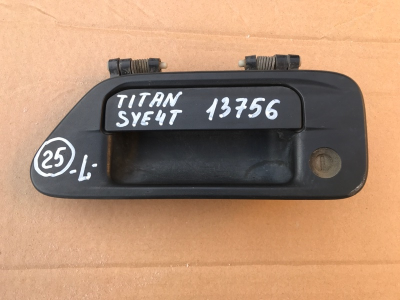 Ручка двери, наружная Mazda Titan SYE4T FE 2002 левая