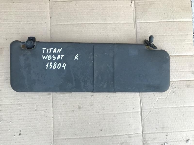 Козырек солнцезащитный Mazda Titan WG3AT 4HF1 1996 правый