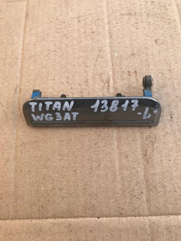 Ручка двери, наружная Mazda Titan WG3AT 4HF1 1996 левая
