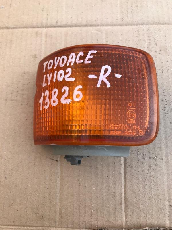 Поворотник Toyota Toyoace LY102 5L 2000 правый