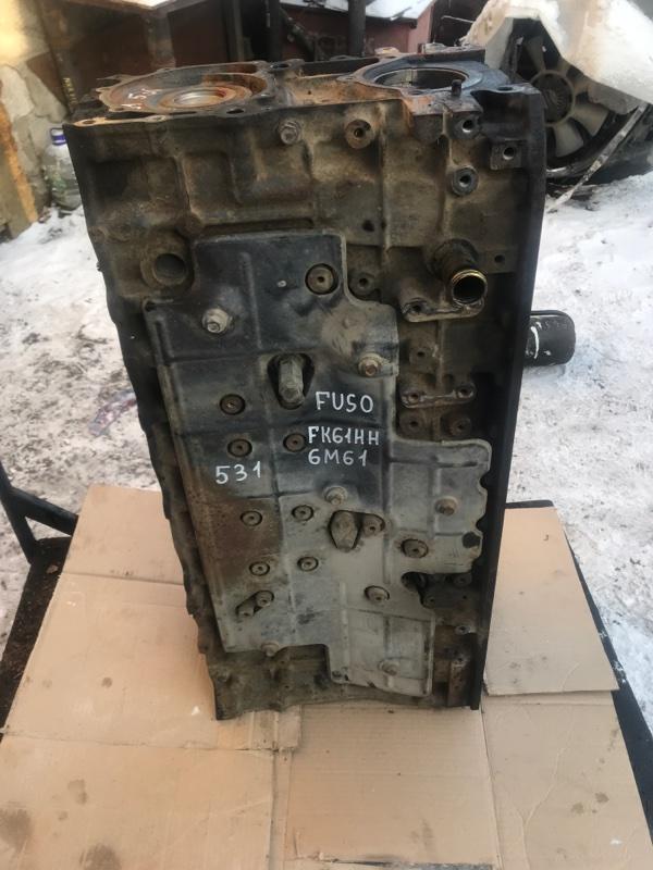 Блок двигателя Mitsubishi Fuso FK61HH 6M61 2001