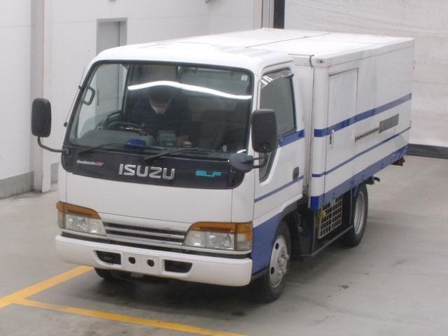 Двигатель Isuzu Elf NKR71E-7424254 4HG1 2001