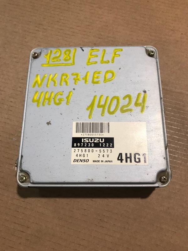 Блок управления двс (компьютер) Isuzu Elf NKR71ED 4HG1 2001