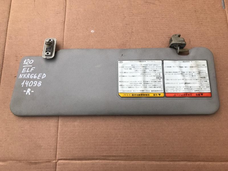Козырек солнцезащитный Isuzu Elf NKR66ED 4HF1 2000 правый