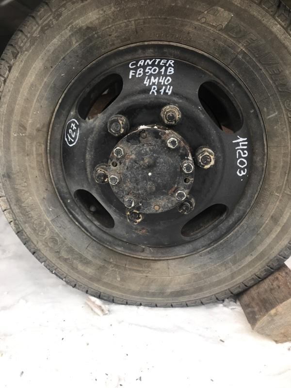 Диск колесный r14 Mitsubishi Canter FB501B 4M40 1997