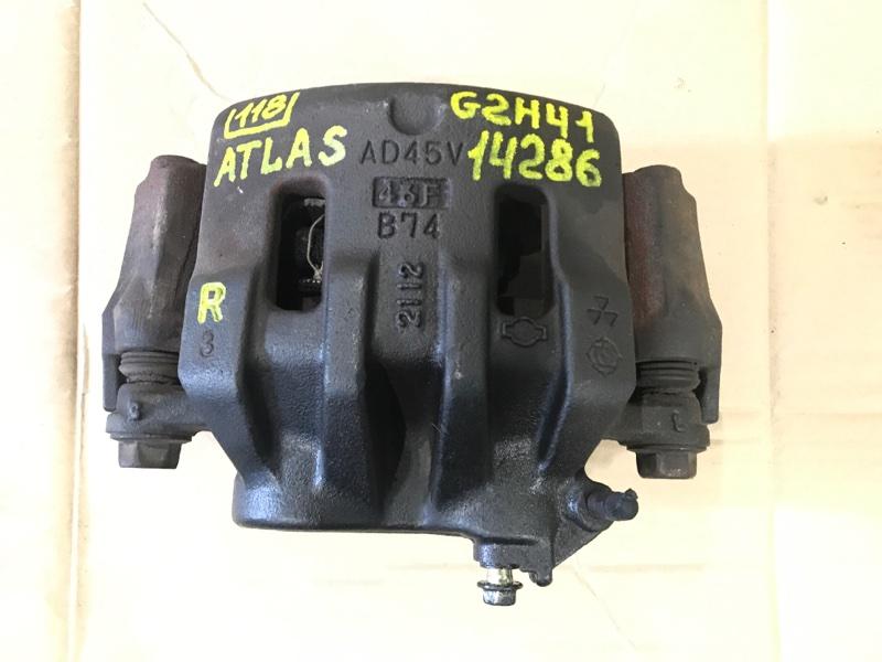 Тормозной суппорт Nissan Atlas G2H41 FD42 1994 правый