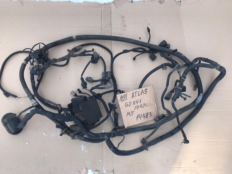 Проводка (коса) моторного отсека Nissan Atlas G2H41 FD42 1993