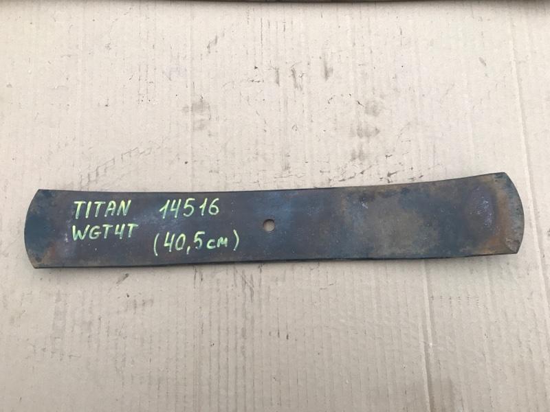 Лист рессорный Mazda Titan WGT4T TF 1990 передний