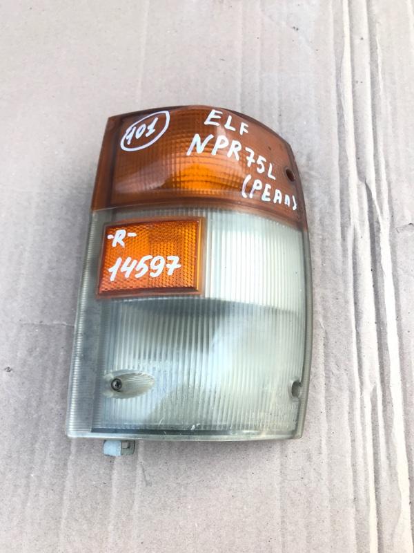 Поворотник с габаритом Isuzu Elf NPR75L 4HK1 2002 правый