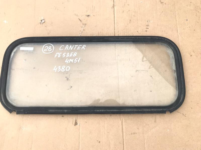 Стекло Mitsubishi Canter FE53EB 4M51 2001 заднее
