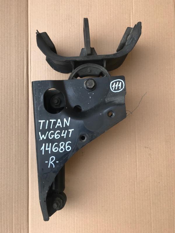 Подушка кабины Mazda Titan WG64T 4HG1 1997 правая
