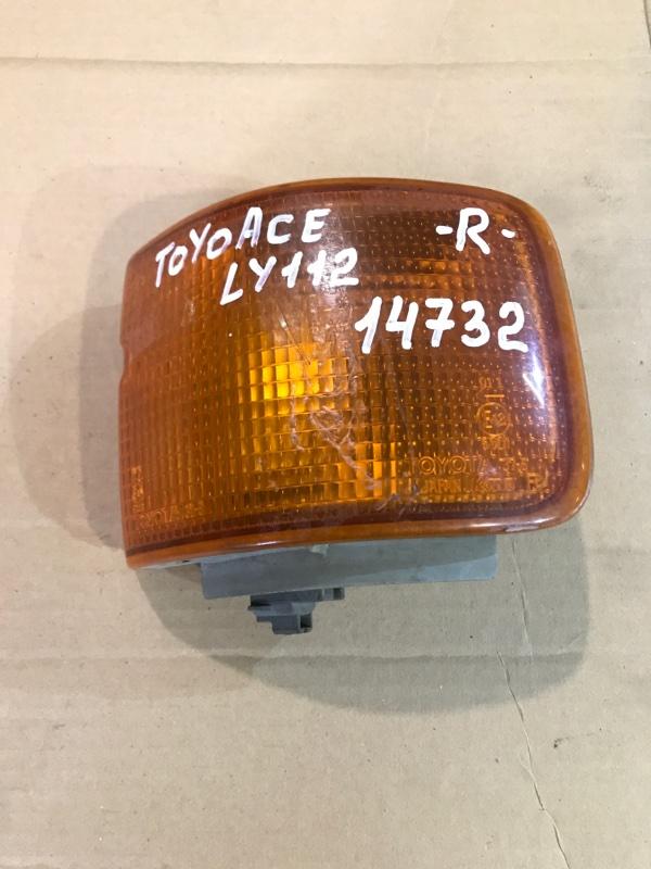 Поворотник Toyota Toyoace LY112 5L 2000 правый