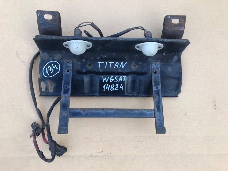 Подсветка номера Mazda Titan WGSAT VS 1998